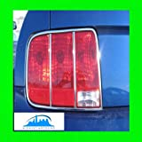 51hATaGyTVL. SL160  2005 2009 FORD MUSTANG CHROME TAILLIGHT TRIM MOLDINGS 6PC 2006 2007 2008 05 06 07 08 09 TAIL LIGHTS LIGHT GT SHELBY COBRA