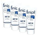Nufree Finipil Lait 50 - Set of 4 Tubes 44ml each