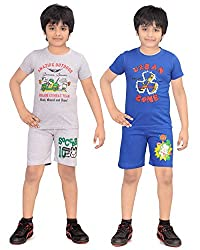 DONGLI NIGHT SUIT BOYS COMBO (PACK OF 2)