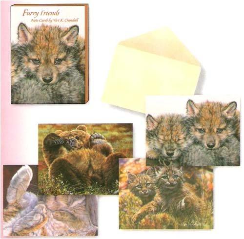 Furry Friends by Vivi K Crandall [ASN34616] -