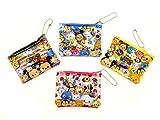 (ディズニー)Disney ディズニー コイン ケース BC TM ツムツム 4種 各1 4個 セット
