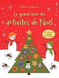 echange, troc Fiona Watt, Rebecca Gilpin, Collectif - Le grand livre des activités de Noël