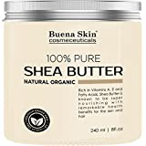 PURE Shea Butter Beauty - 100% Natural & Organic - African Raw Ivory Premium Grade AAA Virgin - Product of Ghana - 8 oz