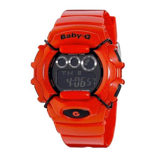 Casio Women's BG1006SA-4BCR Baby-G Orange Digital Sport Watch