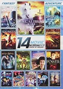 14-film Fantasy Adventure Collection by Platinum Disc