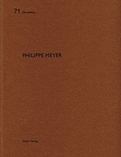 Philippe Meyer De aedibus (English and German Edition) [Wirz, Heinz] (Tapa Blanda)