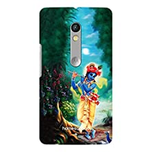 buy Homesogood Krishna Playing Flute Multicolor 3D Mobile Case For Moto X Play (Back Cover)