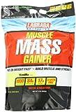 Labrada Nutrition Muscle Mass Gainer, Vanilla, 12 Pound