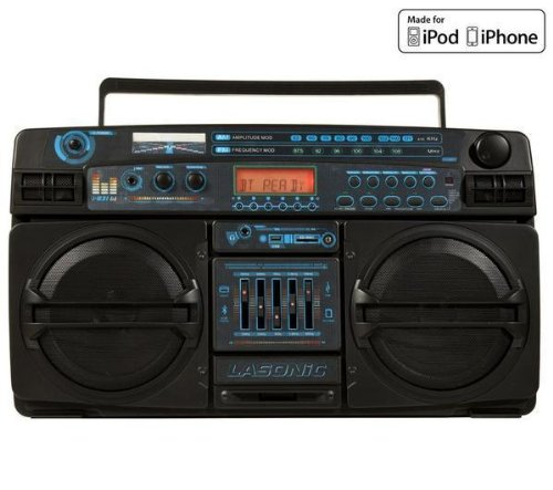 Lasonic i-931BT Portable Ghetto Blaster Boom Box Stereo with Built-In Bluetooth 0