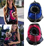 AerWo Dog Cat Pet Carrier Portable Outdoor Travel Backpack, (Fuchsia ,S)