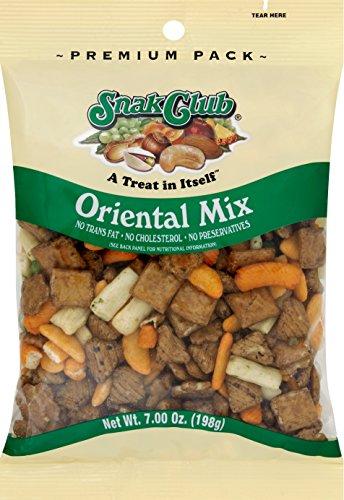 Snak Club Premium Pack Oriental Mix 7 oz / 6 pk (Snak Club Oriental Mix compare prices)