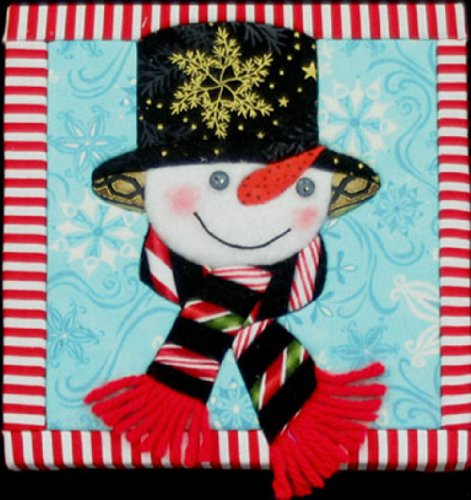 Artsi2 A2SNOWSPE Snowman Spencer Wall Hanging Kit