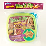 SAVE $2.62 - Compac Take A Dip 2the Side Container, Green/Blue $1.37