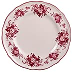 Floral Stoneware Dinner Plate