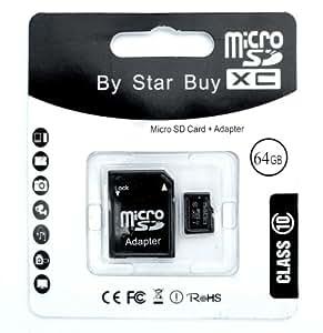 64gb micro sd card with adaptor class 10- high quality