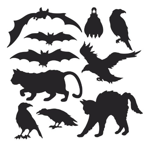 Halloween Silhouettes   (10/Pkg)