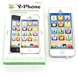 Cooplay White Y-phone Toy LED Play Music (Green Box) Cell Phone Mobile Phone Cellphone Yphone Iphone 5s Toy With...