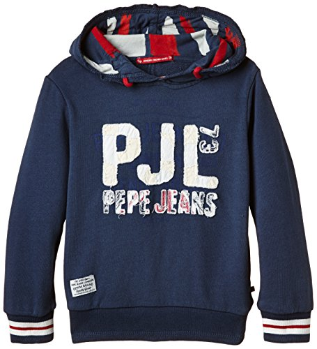 Pepe Jeans - FABIO, Felpa per bambini e ragazzi, blu (Blau  (Indigo 561)), 10 anni