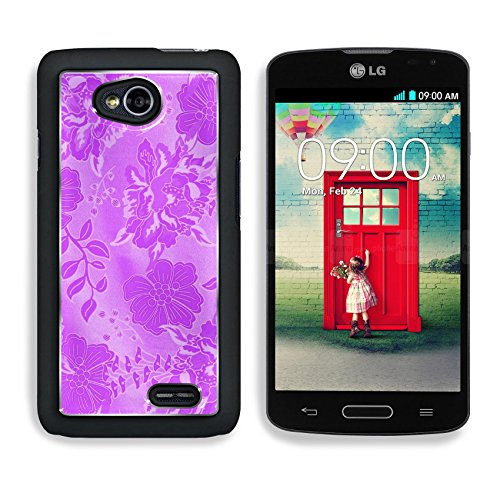 MSD Premium LG Optimus L70 Dual Aluminum Backplate Bumper Snap Case purple background with floral pattern Abstract illustration IMAGE 35046387 (Zelda For Wi compare prices)