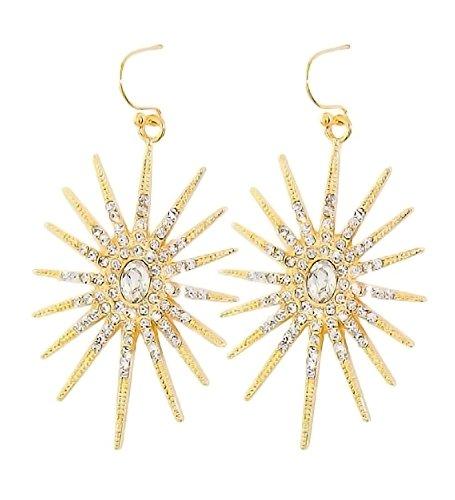 pammyj-goldtone-crystal-sunburst-dangle-earrings
