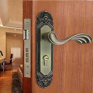 bronze interior door locks bedroom door lock set
