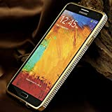 Go Crazzy Luxury Bumper Case For Samsung Note 3 N 9000 (Golden)