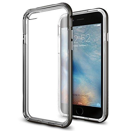 Spigen iPhone6s ケース / iPhone6 ケース, ネオ・ハイブリッド EX [ 二重構造 スリム フィット ] アイフォン6s / 6 用 カバー (iPhone6s, ガンメタルSGP11816)