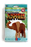 3D Safari Cookie Cutters (by Suck UK)