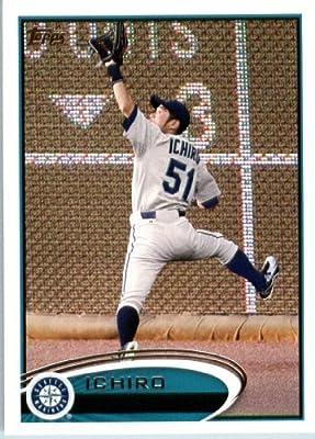 2012 Topps Baseball Card # 537 Ichiro Suzuki - Seattle Mariners - MLB Trading Card