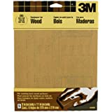 3M Garnet Sandpaper, Very Fine Grit, 9-Inch by 11-Inch, 5-Sheet