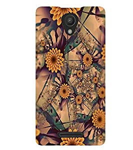 PRINTSWAG FLOWERS PATTERN Designer Back Cover Case for XIAOMI REDMI 3S