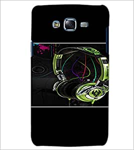 PrintDhaba Music D-1391 Back Case Cover for SAMSUNG GALAXY J7 (Multi-Coloured)