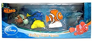 Beverly Hills Teddy Bear Company Finding Nemo Toy Figure, 4-Pack
