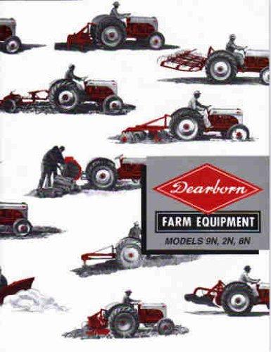 Ford 2N 9N 8N Tractor Dearborn Implements Sales Booklet