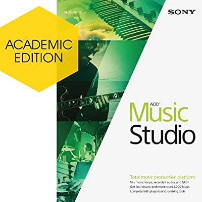 Sony ACID Music Studio 10 - Academic Version [Download]