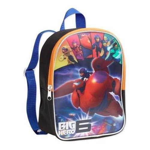 "Big Hero 6 Disney Baymax Children's 10"" Lenticular Backpack for School or Everyday Bag"