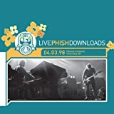 LivePhish 04/03/98 by JEMP Records (2005-07-19)