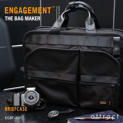 【正規取扱販売店】ENGAGEMENT エンゲージメント Engaged Nylon エンゲージド・ナイロン Briefcase ブリーフケース ショルダーバッグ (EGBF-001)