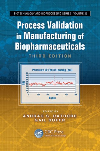 Process Validation in Manufacturing of Biopharmaceuticals, Third Edition (Biotechnology and Bioprocessing)