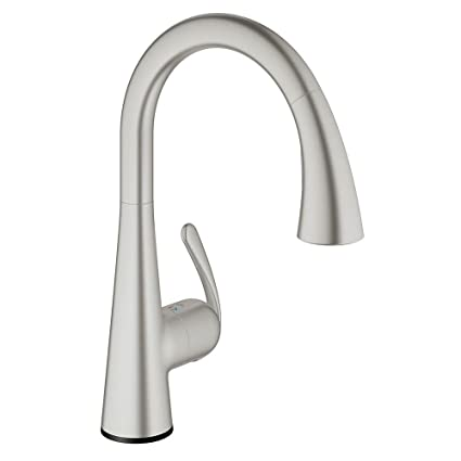 Ladylux³ Café Touch Single-Handle Pull-Down Kitchen Faucet