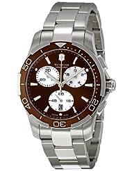 Victorinox Swiss Army Women's 241502 Brown Dial Chronograph Watch