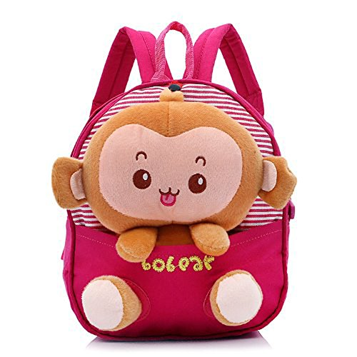 generic-new-lovely-monkey-cute-cartoon-kids-children-bag-for-boys-girls-baby-backpack-zoo-schoolbags