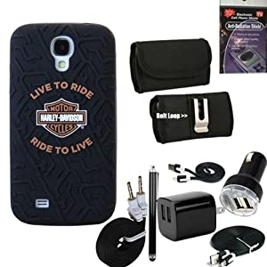 harley davidson silicone tire tread gel 7611 cover for samsung galaxy s4 comes with. Black Bedroom Furniture Sets. Home Design Ideas