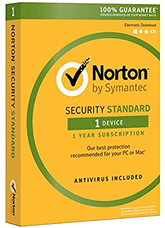 Norton Security Standard - 1 Device | PC/Mac Online Code [Online Code]