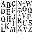 Inkadinkado Artstamp Large Alphabet Clear Stamps