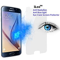 iLee Anti Radiation Eye Care Premium TEMPERED Glass Screen Protector For SAMSUNG GALAXY S6