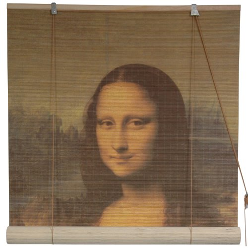 "Mona Lisa Bamboo Blinds - 72"" Wide"