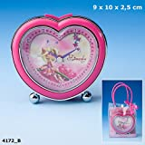 Diddl & Friends Simsaly Heartshaped Alarm Clock