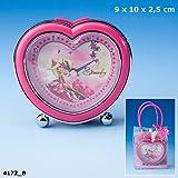 Diddl & Friends Simsaly Heartshaped Alarm Clock