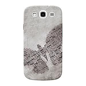 Mobile Back Cover For Samsung I9300 Galaxy S3 (Printed Designer Case)
